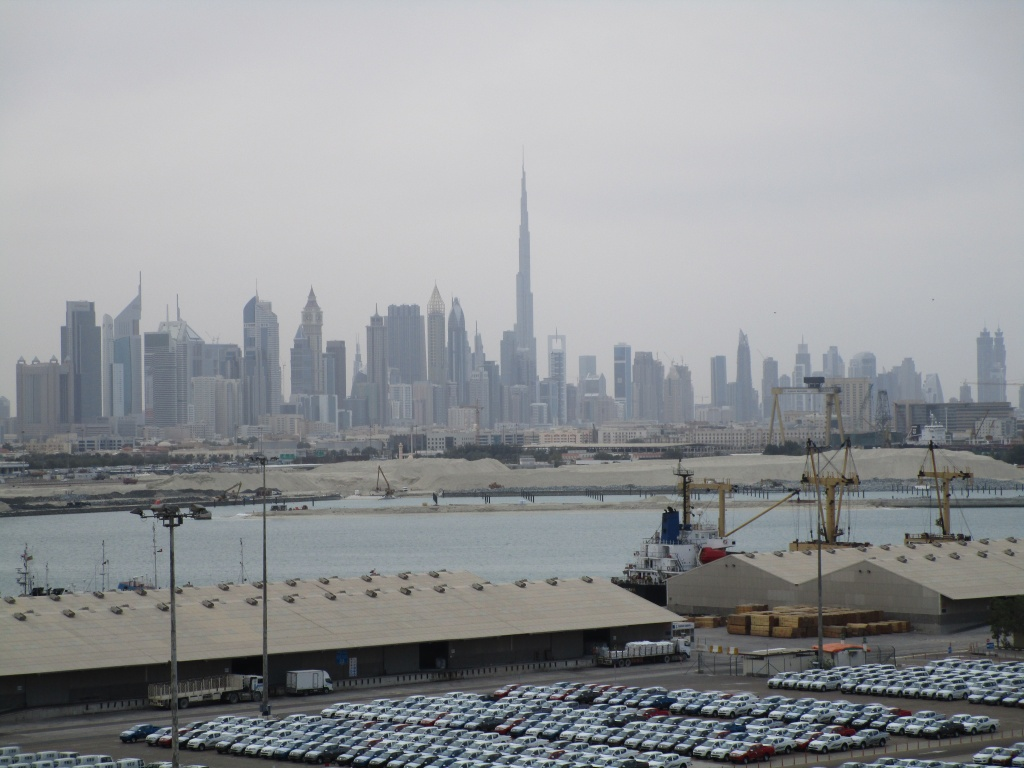 De Burj Kalifah in Dubai is, nog wel, het hoogste gebouw ter wereld