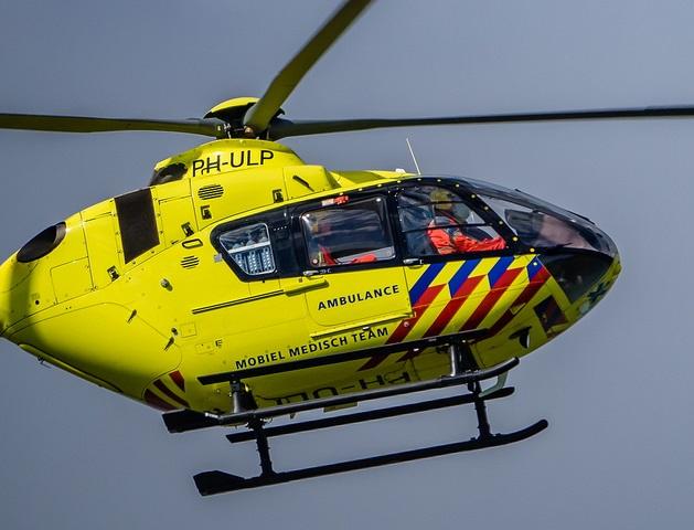 Hulp van de trauma-helicopter mocht niet meer baten Foto: Frans Berkelaar