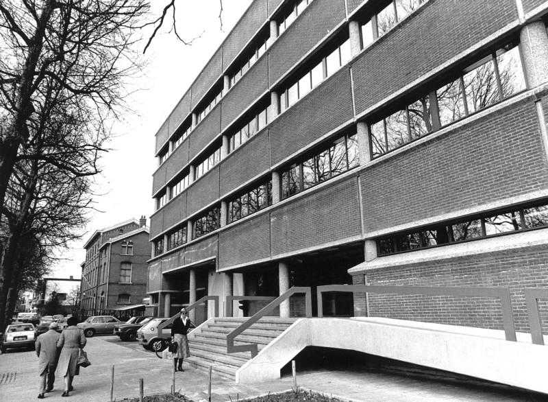 Het Pieter Baan Centrum te Utrecht in 1978 © anp-archief