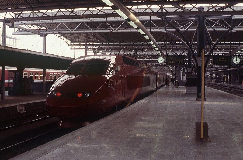 Thalys in Brussel-Zuid (1996)