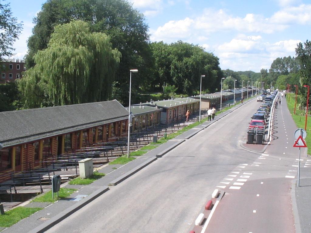 De prostitutieboten aan het Zandpad in Utrecht (2005)