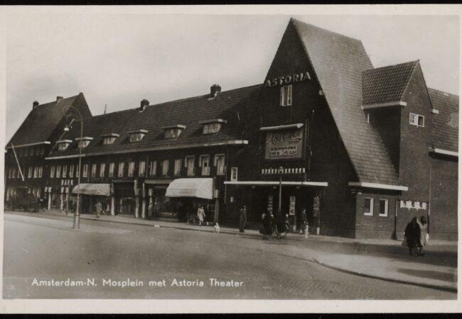 Bioscoop Astoria waar Henk S, één van de vele verdachten, werkte